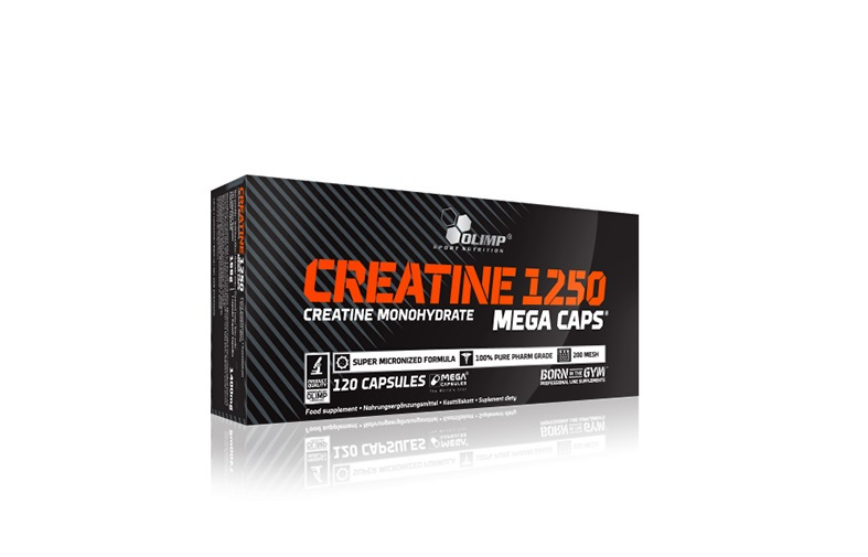 کراتین creatine 1250 mega caps olimp